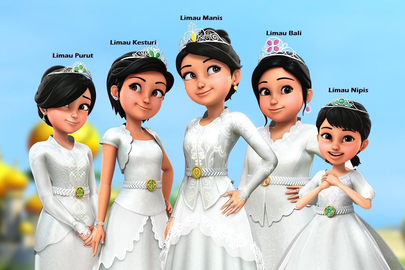 4 Animasi Favorit Anak
